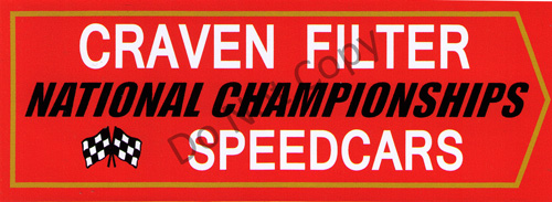 Craven Filter Speedcars
