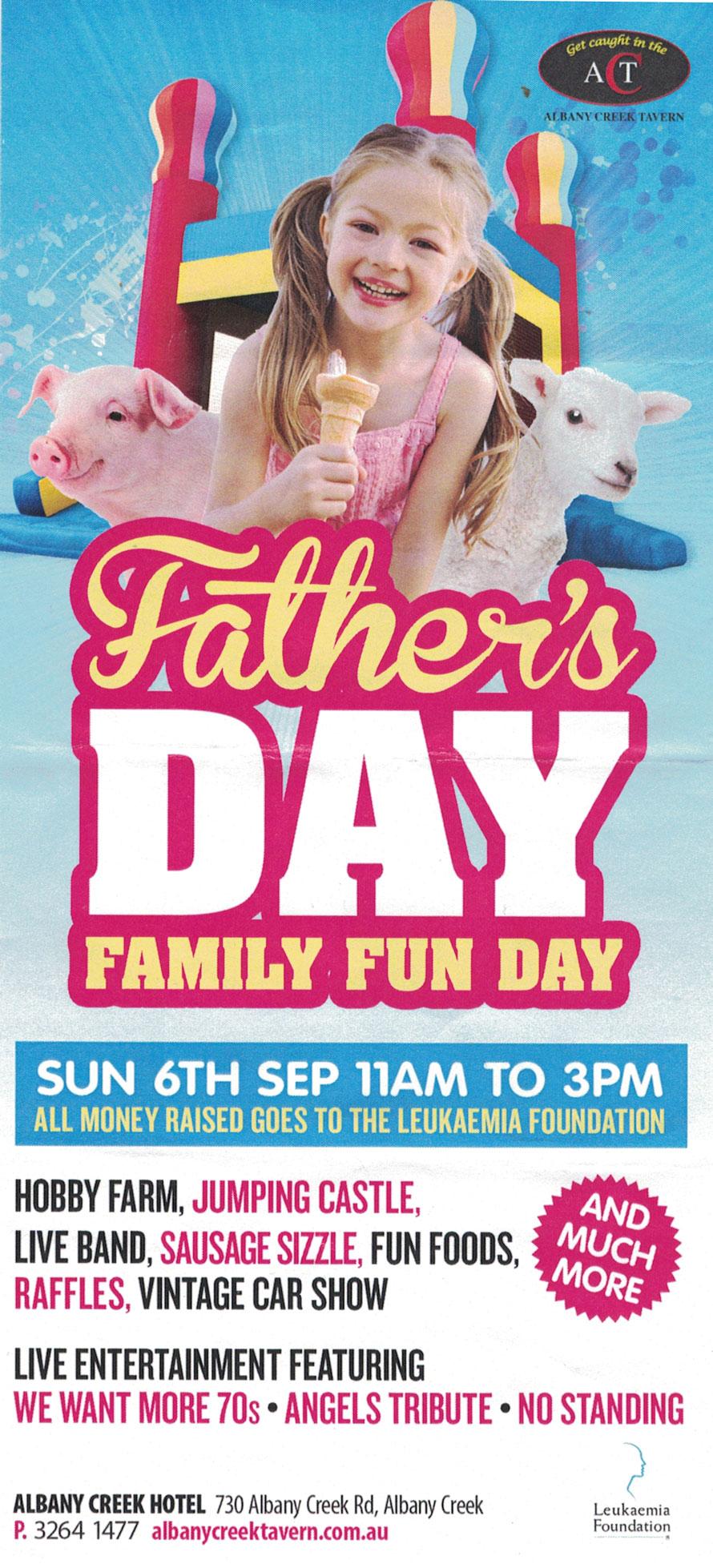 2015 Father's Day Family Fun Day @ Albany Creek Tavern | Albany Creek | Queensland | Australia