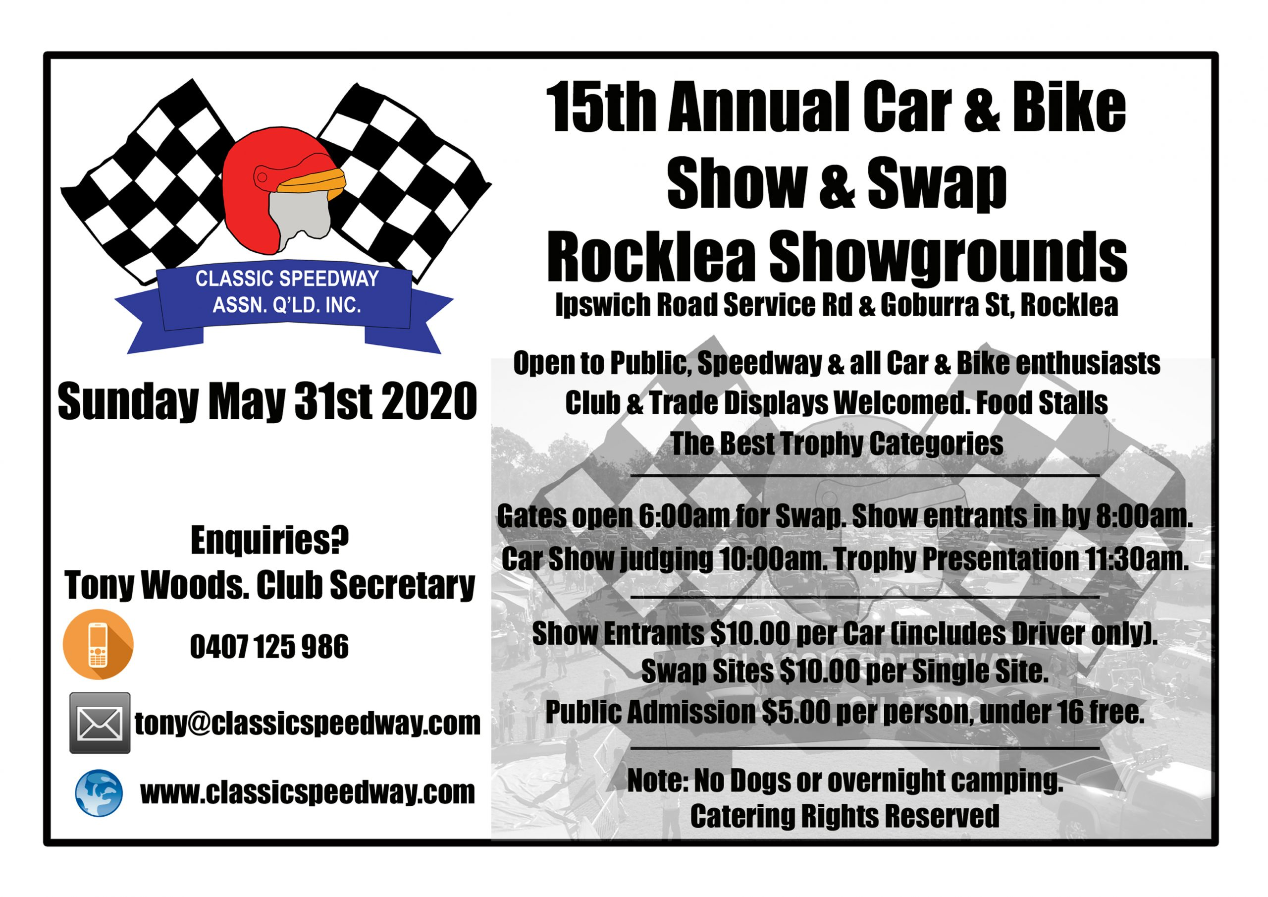 CSAQ 15th Annual Car/Bike Show & Swap @ Rocklea Showgrounds - Ipswich Service Rd and Goburra St Rocklea